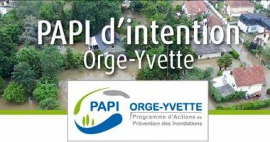 Plaquette de présentation du PAPI d'intention Orge-Yvette